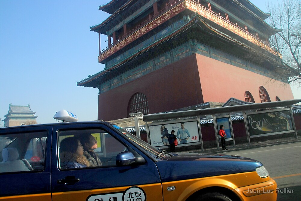 Beijing - Chinese Cab. by Jean-Luc Rollier