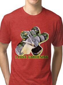 I Love Gardening Tri-blend T-Shirt