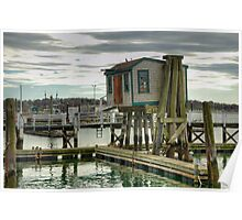 The Fishing Shanty   HDR  Poster