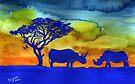 Rhinos from Africa by Elizabeth Kendall