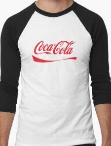 Coca Cola Men's Baseball ¾ T-Shirt