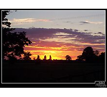 Cotswold Sunset Photographic Print