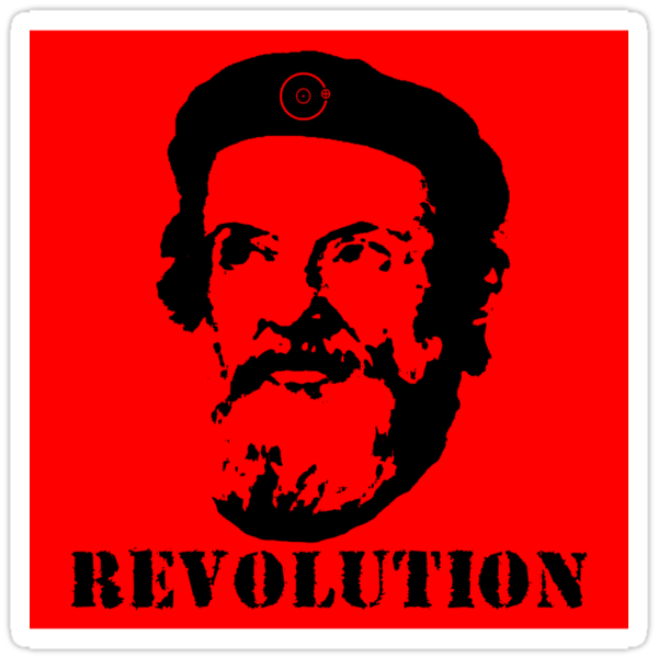 Revolution Sticker by AngryMongo