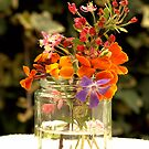 Flower jar. by Roz Cooper