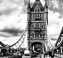 Day In The Sun - London's Tower Bridge by Mark Tisdale