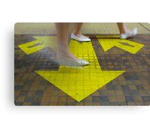 Commuter Dance Steps Canvas Print