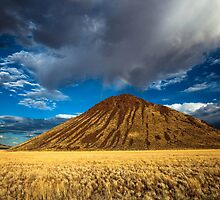 Chocolate Mountain with Rainbow by Jill Fisher