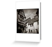 { fairy tale houses } Greeting Card