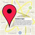 The Big Bang Theory - Sheldon's Spot by BadCatDesigns