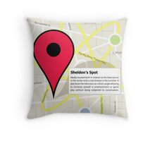 The Big Bang Theory - Sheldon's Spot Throw Pillow