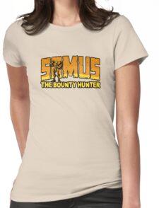 Samus the Bounty Hunter Womens Fitted T-Shirt