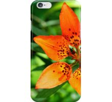 The Earth Laughs in Flowers - Lily, Jasper, Alberta, Canada iPhone Case/Skin