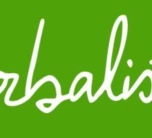 Herbalist Leaf Sticker