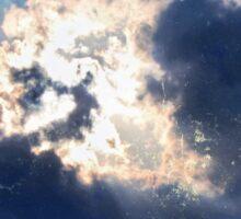 Window of Heaven Sticker