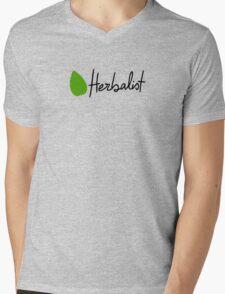 Herbalist Mens V-Neck T-Shirt