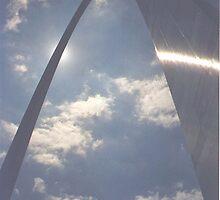 Gateway Arch, St. Louis, Missouri, 1995 by Dwaynep2010