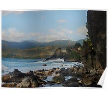 Rugged Shoreline Poster