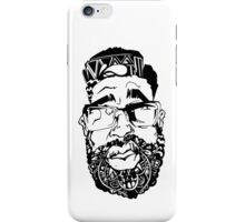 Graffiti Pop-art Cartoon Portrait  iPhone Case/Skin