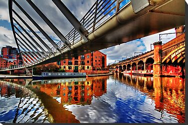 Castlefield Junction Manchester by inkedsandra