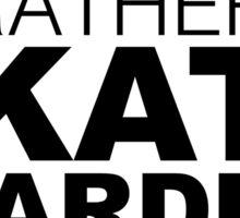 I'd rather be Skate Boarding Sticker