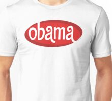 Retro Red Obama Unisex T-Shirt