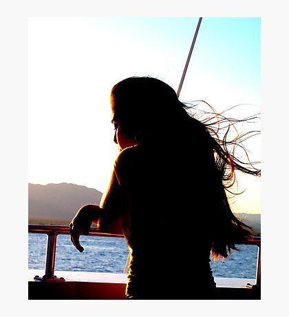 sundown sailor Photographic Print