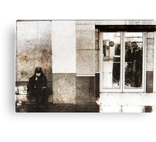 Homeless  Canvas Print