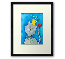 King of Cats Framed Print
