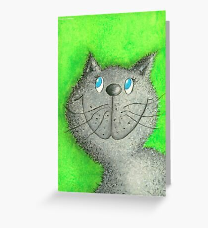Cat Lina Greeting Card