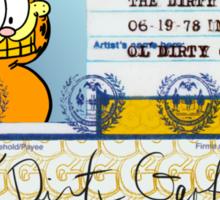 ODB X Garfield Sticker