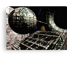 The Flight Across the Three Universes #1 - Flying Cities Canvas Print