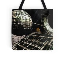 The Flight Across the Three Universes #1 - Flying Cities Tote Bag