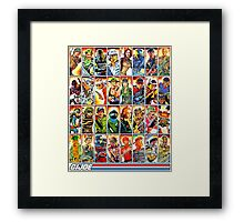 G.I. Joe in the 80s! Framed Print