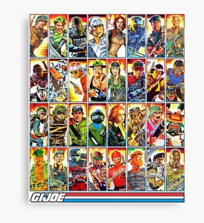 G.I. Joe in the 80s! Canvas Print