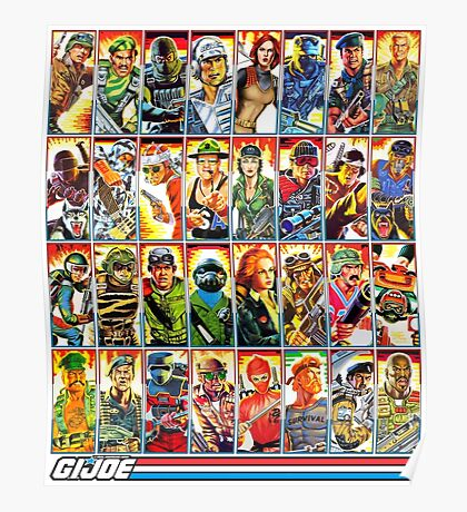 G.I. Joe in the 80s! Poster