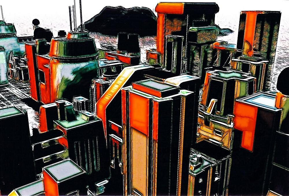 The Flight Across the Three Universes #2 - Utopia City Dawns #1 by Benedikt Amrhein
