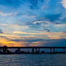 Wide Shot March Sunset Stuart Florida by Henry Plumley