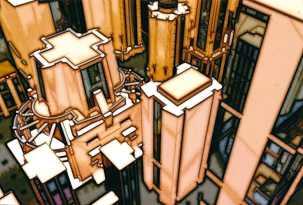 The Flight Across the Three Universes #3 - Utopia City Dawns #2 by Benedikt Amrhein