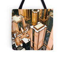 The Flight Across the Three Universes #3 - Utopia City Dawns #2 Tote Bag