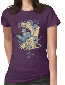 Shadow Moses  Womens Fitted T-Shirt