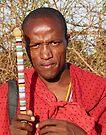 Maasai junior elder by Linda Sparks