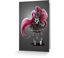 Rainbow Punk: Pinky Punk Greeting Card