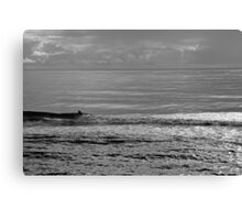 All To Himself Canvas Print