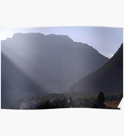 Morning Light Pisang Poster