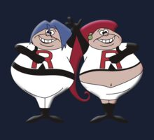Tweedle Jim and Tweddle Jess by trekvix