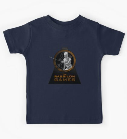 The Rassilon Games (Timescoop Variant) Kids Tee