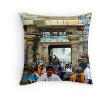 Welcome to India Throw Pillow
