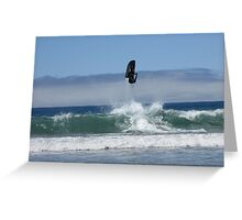 10ft in the air Greeting Card