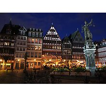 Downtown Frankfurt Photographic Print