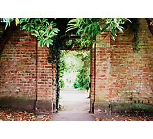 Gate at Lady Dixon Park - Belfast Photographic Print